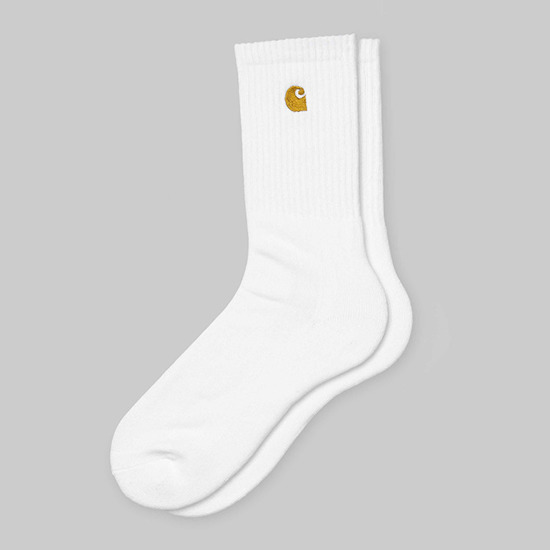 Carhartt Chase Socks I026527 WHITE/GOLD