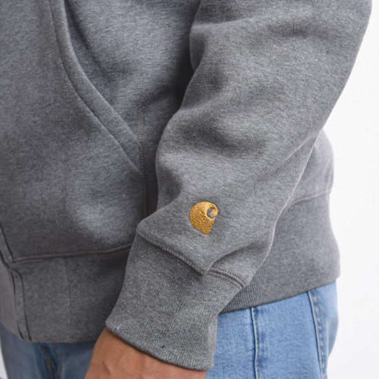 Carhartt WIP Chase I026385 DARK GREY HEATHER/GOLD