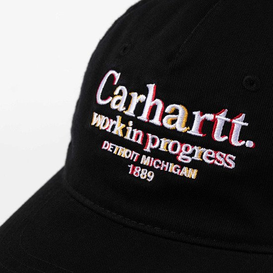 Carhartt WIP Commission Cap I028508 BLACK