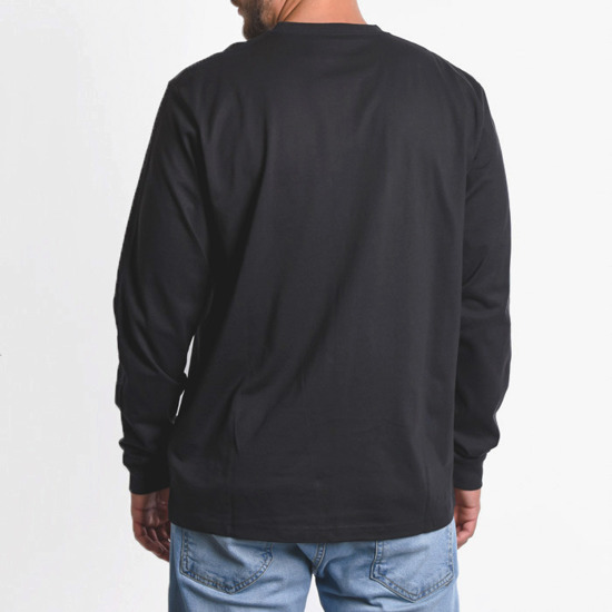 Carhartt WIP Long Sleeve College I024805 Black/White