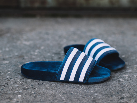 "Damen Flipflops adidas Originals Adilette ""Mystery Blue"" BY9908"