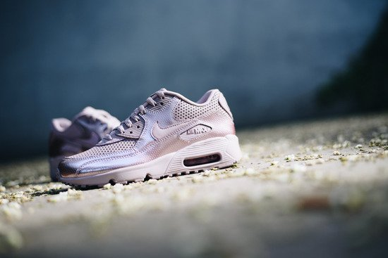 Damen Schuhe sneakers Nike Air Max 90 Se Leather 859633 600