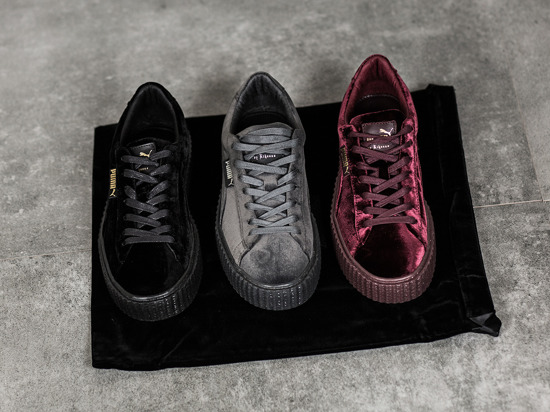 puma creeper velvet grey