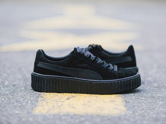 damen schuhe sneakers puma suede creepers satin fenty rihanna 362268 01 preis online shop. Black Bedroom Furniture Sets. Home Design Ideas