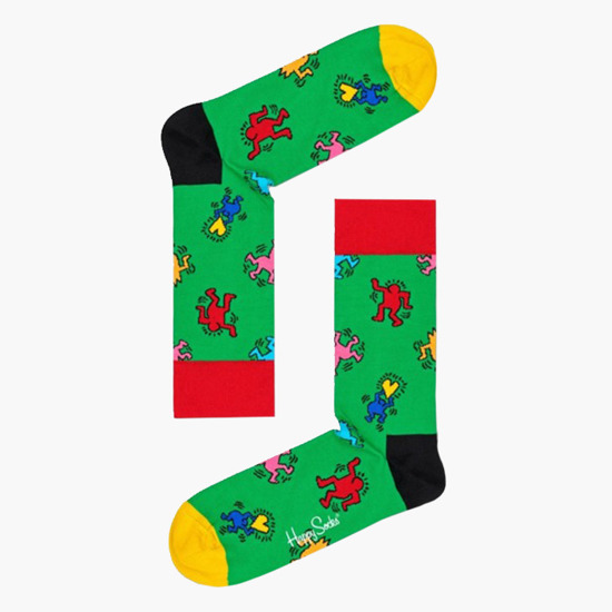 Happy Socks x Keith Harning XKEH08 0100