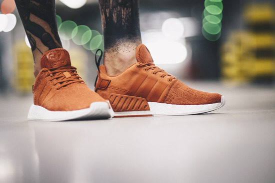 "Herren Schuhe sneakers adidas Originals NMD_R2 ""Future Harvest"" BY9915"