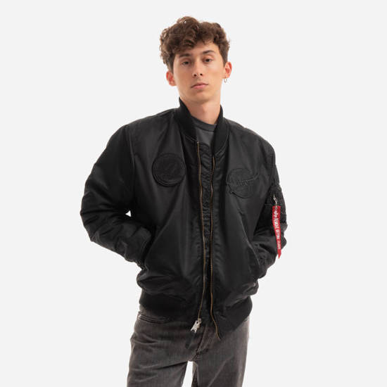 Herren jacke Alpha Industries MA-1 Vf Nasa 166107 404