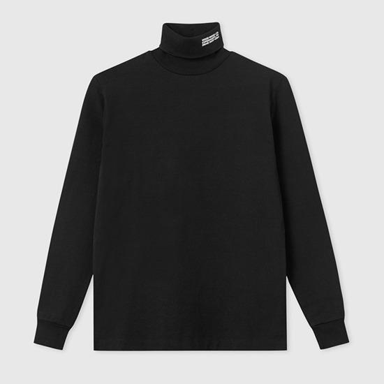 Wood Wood Austin Turtleneck 11935401-2470 Black