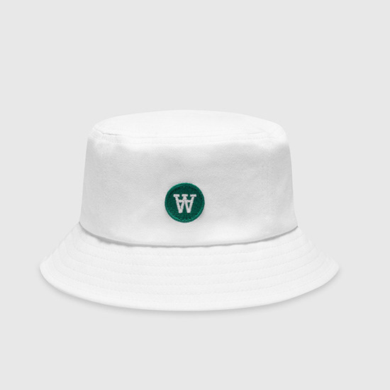 Wood Wood Val Bucket Hat 10000814-7083 BRIGHT WHITE