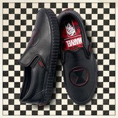 Vans Classic Slip-On x Marvel Black Widow VA38F7U7K